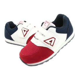 American Club Sports shoes leather insert American BS01 BS02 Red white navy blue 2