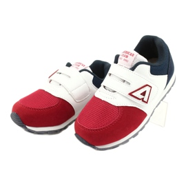American Club Sports shoes leather insert American BS01 BS02 Red white navy blue 1