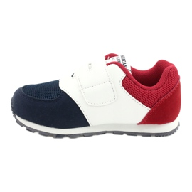 American Club American BS01 BS02 Navy leather insole white red navy blue 1