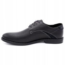 Lukas Elegant men's shoes 253LU black 1