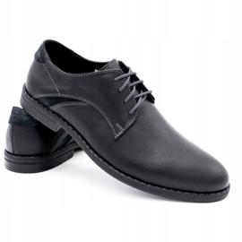 Lukas Elegant men's shoes 253LU black 4