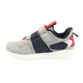 American Club AA06 leather insole red navy blue grey 1
