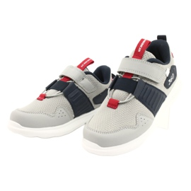American Club AA06 leather insole red navy blue grey 2