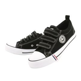 American Club Black Velcro sneakers American LH31 / 21 3