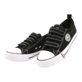 American Club Black Velcro sneakers American LH31 / 21 1