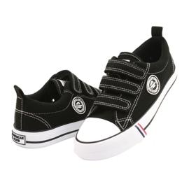 American Club Black Velcro sneakers American LH31 / 21 2