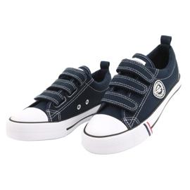 American Club Velcro sneakers American LH31 / 21 navy blue 1