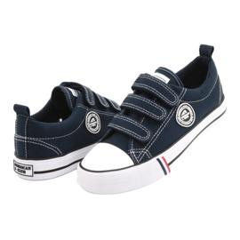 American Club Velcro sneakers American LH31 / 21 navy blue 2