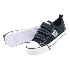 American Club Velcro sneakers American LH31 / 21 navy blue 3