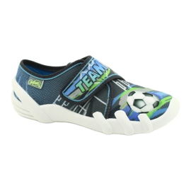 Befado children's shoes 273Y317 blue grey multicolored green 1