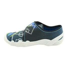 Befado children's shoes 273Y317 blue grey multicolored green 2