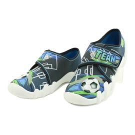 Befado children's shoes 273Y317 blue grey multicolored green 3