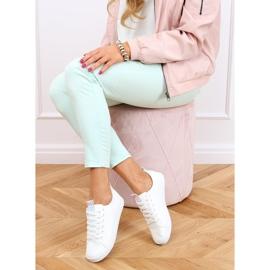 White women's sneakers LA70P White 4