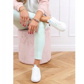 White women's sneakers LA70P White 2