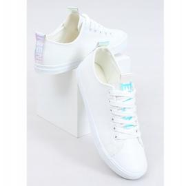 White women's sneakers LA70P White 1