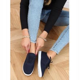 Navy blue women's socks 1026 Navy 2