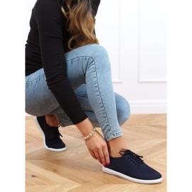Navy blue women's socks 1026 Navy 3