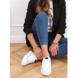 White women's sneakers LA173P White 4