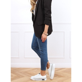White women's sneakers LA173P White 3