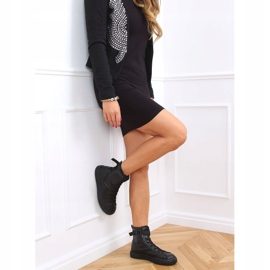 Black VL142 Black sneakers with a sachet 3