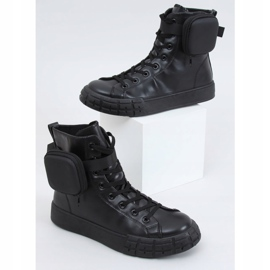 Black VL142 Black sneakers with a sachet 1