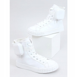 Sneakers for the ankle with a sachet white VL142 White 1