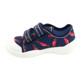 Befado children's shoes 907P133 red navy 1
