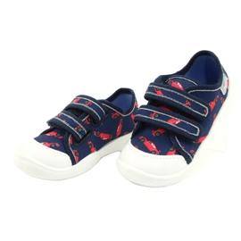 Befado children's shoes 907P133 red navy 2