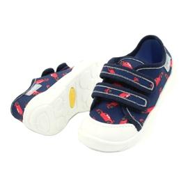 Befado children's shoes 907P133 red navy 3