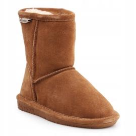 BearPaw Hickory Ii Jr.608TZ shoes brown navy blue 1