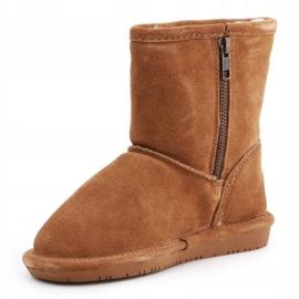 BearPaw Hickory Ii Jr.608TZ shoes brown navy blue 3