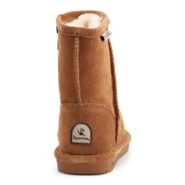 BearPaw Hickory Ii Jr.608TZ shoes brown navy blue 5