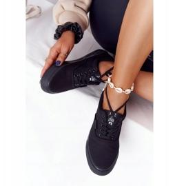 Women's Sneakers Big Star FF274164 Black 6