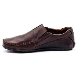 Mario Pala Brown men's loafers 834 1