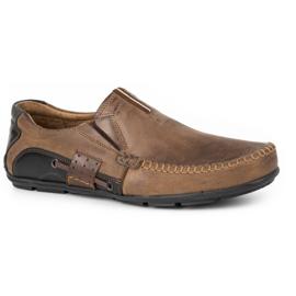 Mario Pala Brown men's loafers 834 2