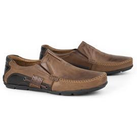 Mario Pala Brown men's loafers 834 3