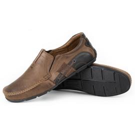 Mario Pala Brown men's loafers 834 4