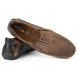 Mario Pala Brown men's loafers 834 5