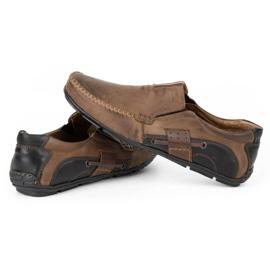 Mario Pala Brown men's loafers 834 6
