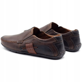 Mario Pala Brown men's loafers 834 7