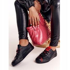 Women's Leather Sneakers Big Star EE274303 Black 4