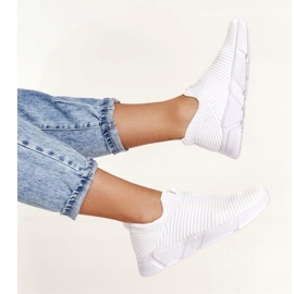 Women's Sport Shoes Slip-on Big Star DD274460 White 8