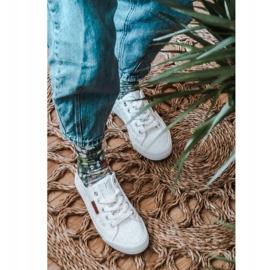 Women's Lace Sneakers Big Star W274925 White 3