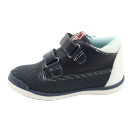 American Club Sport Shoes With Velcro GC12 Navy Blue white 2