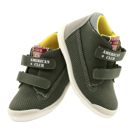American Club Sport Shoes With Velcro GC12 Green 4