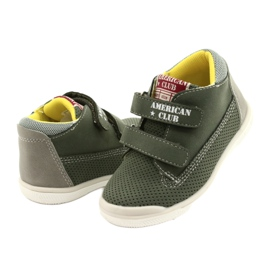 American Club Sport Shoes With Velcro GC12 Green 3
