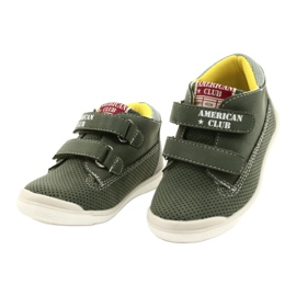 American Club Sport Shoes With Velcro GC12 Green 2