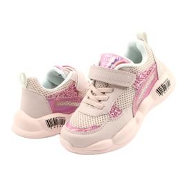 American Club Fashionable Halogen Sport Shoes ES23 / 21 pink 3