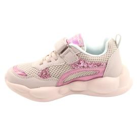 American Club Fashionable Halogen Sport Shoes ES23 / 21 pink 1