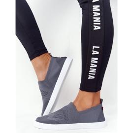 Women's Sneakers Slip-on Big Star FF274A607 Gray grey 5